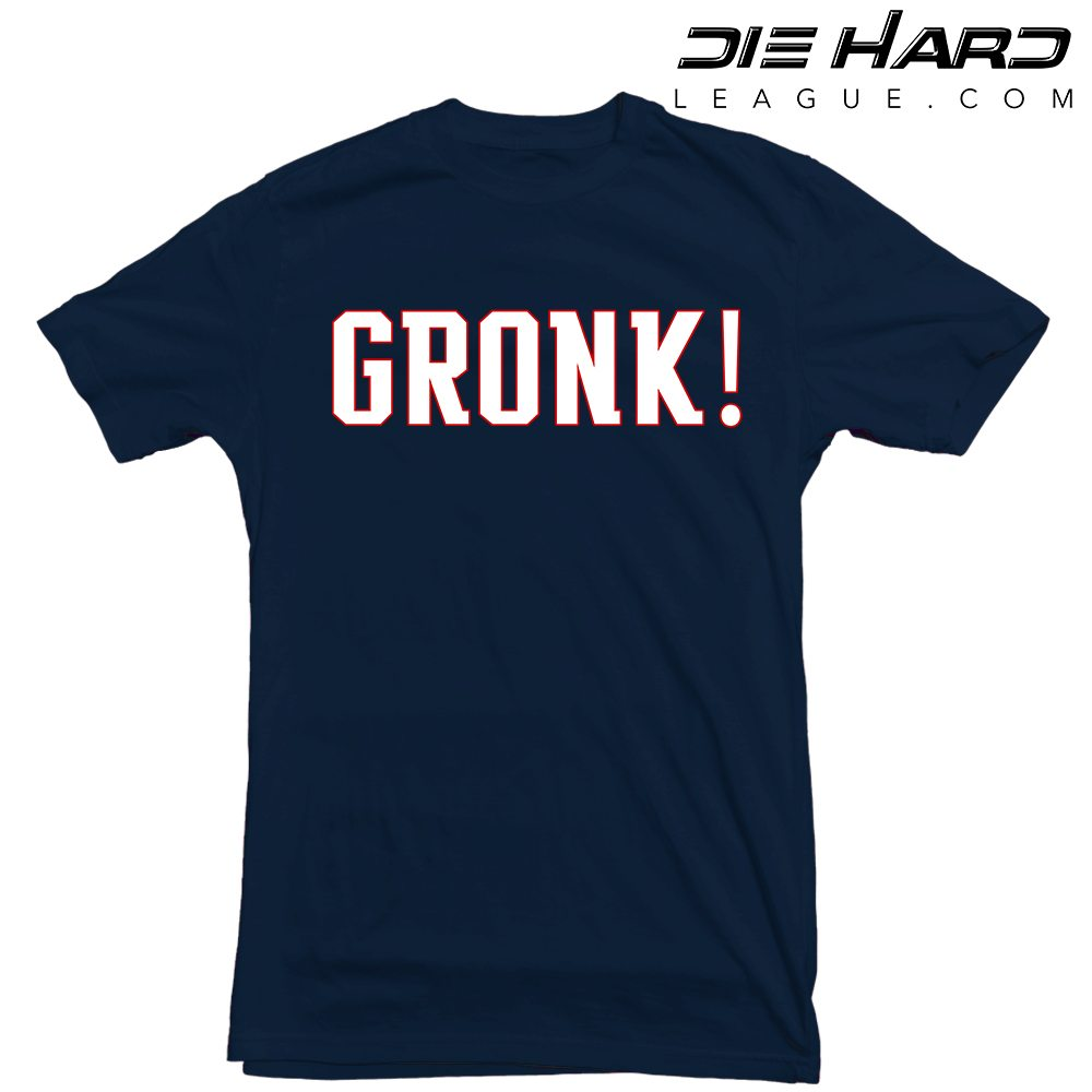 Case Design broncos phone cases : New England Patriots T Shirt Gronk Navy Tee