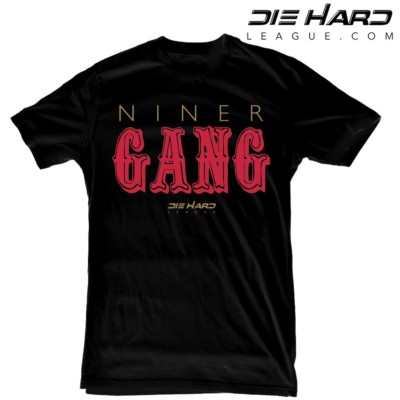 c990d0e83 Forty Niners - San Francisco 49ers Niner Gang Black Tee
