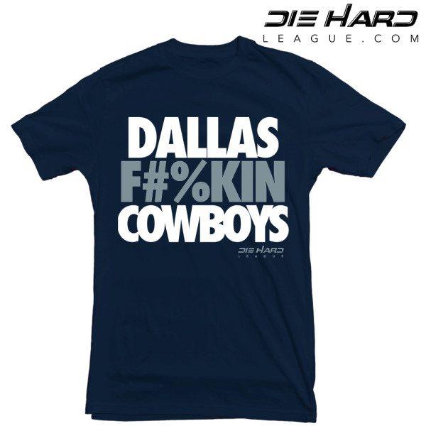Dallas Cowboys Tee Shirts - Dallas Fn Cowboys Navy Tee