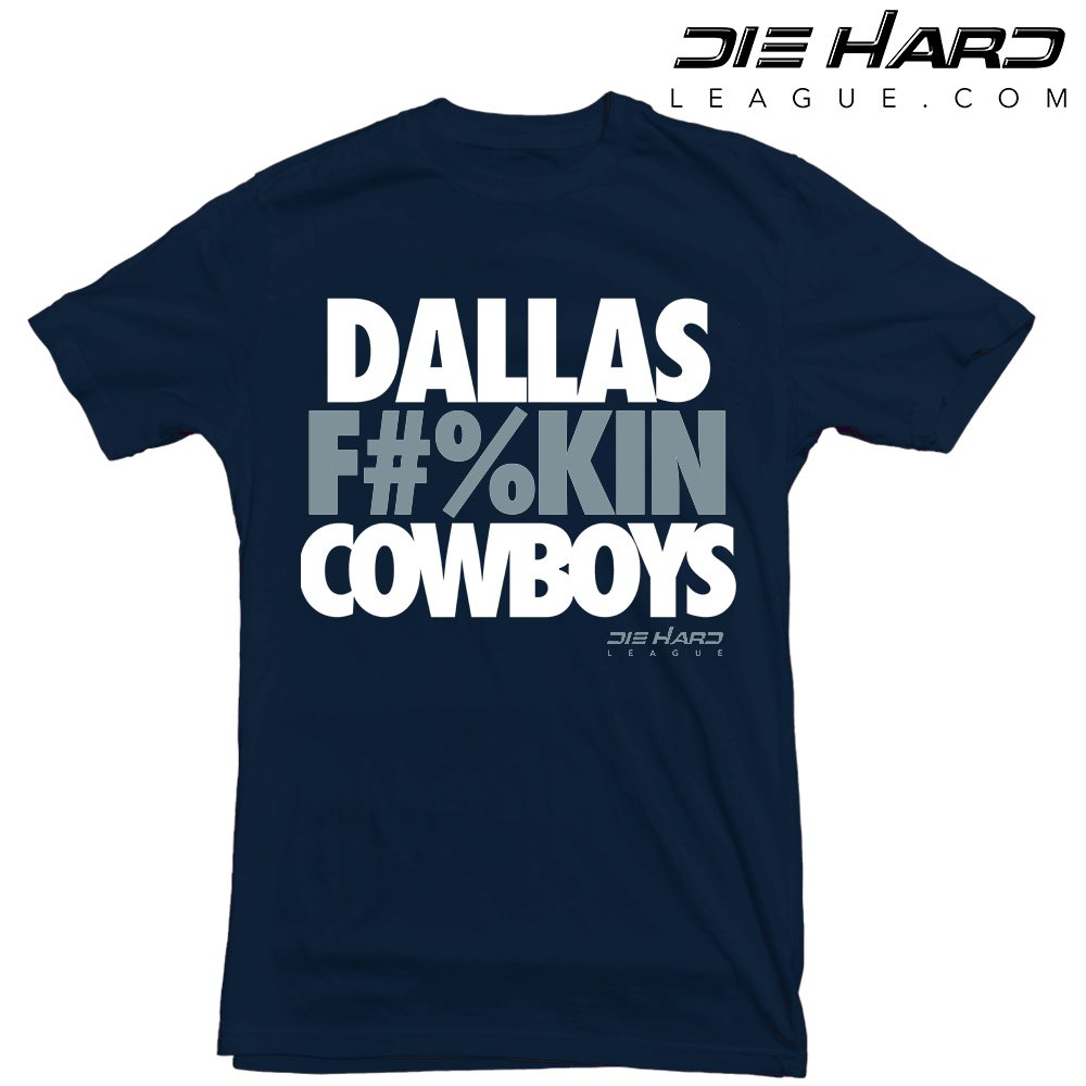 8e3599816 Dallas Cowboys Tee Shirts - Dallas Fn Cowboys Navy Tee