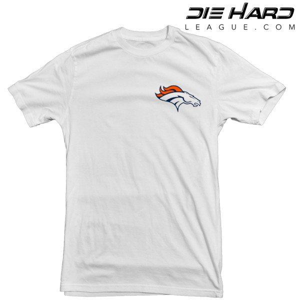 Denver Broncos logo t shirt