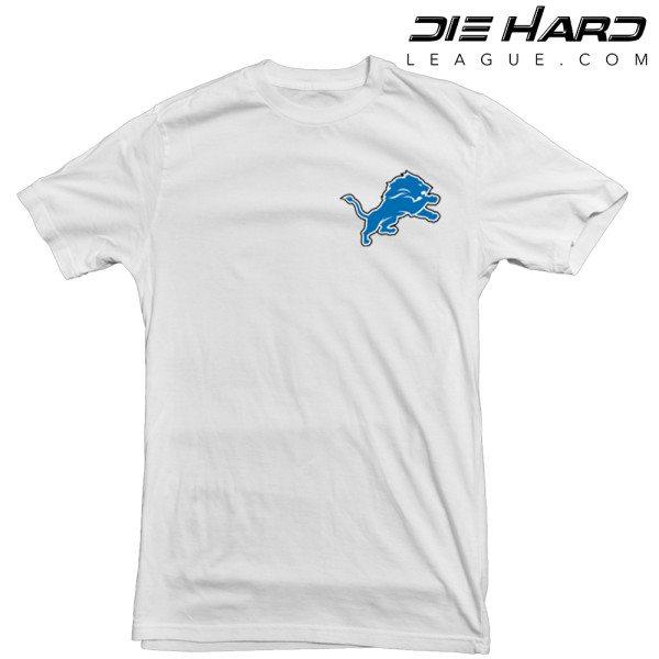 Detroit Lions Logo T shirt