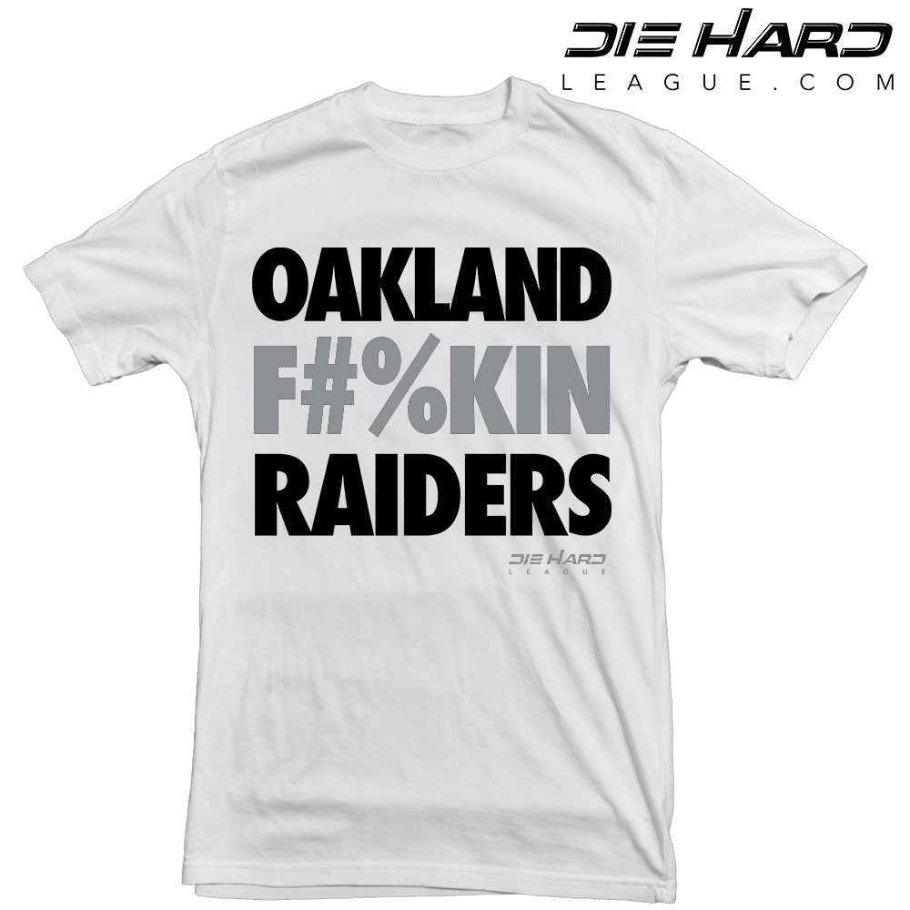 best loved 57ea6 e05a2 Raiders Shirts - Oakland Raiders White Tee