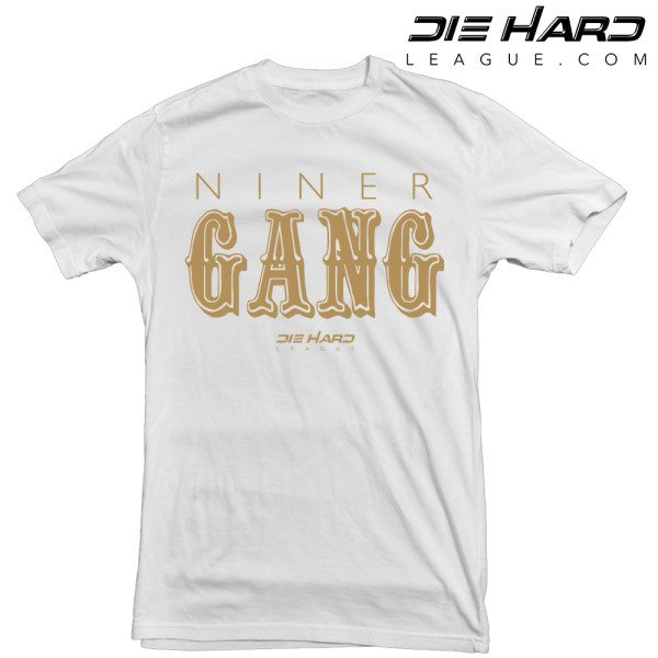 Niners Nation - San Francisco 49ers Niner Gang White Tee