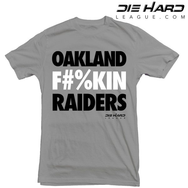 Raiders Shirt - Oakland Raiders Gray Tee