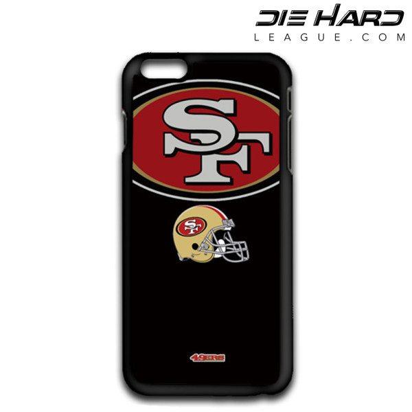 iPhone 6 Cases San Francisco 49ers Logo Helmet Case