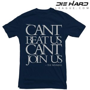 Dallas Cowboys T Shirt Cant Join Us Navy Tee