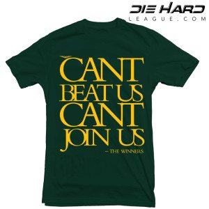 Green Bay Packers T Shirt Cant Join Us Green Tee