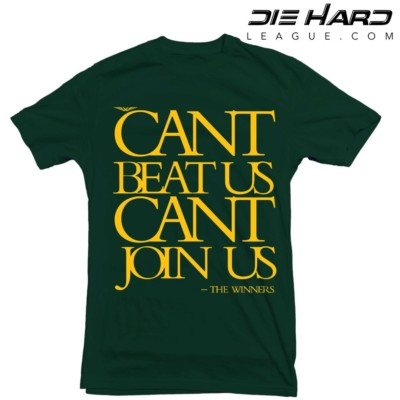 Green Bay Packers Shirt - Cant Join Us Green Tee