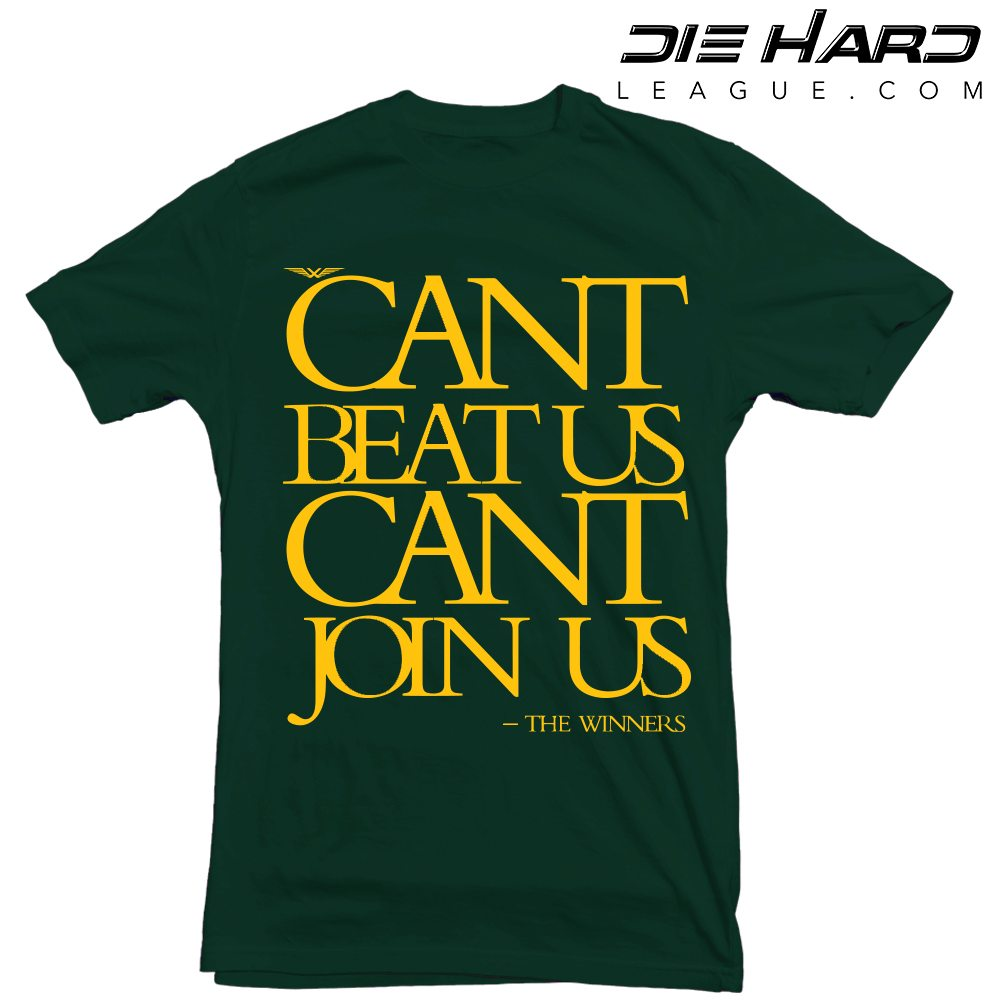 2fc5d228d9dee Green Bay Packers Shirt - Cant Join Us Green Tee [ Best Design ]