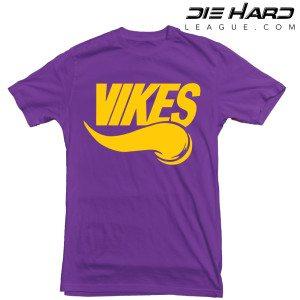 Minnesota Vikings T Shirt Vikes Purple Tee