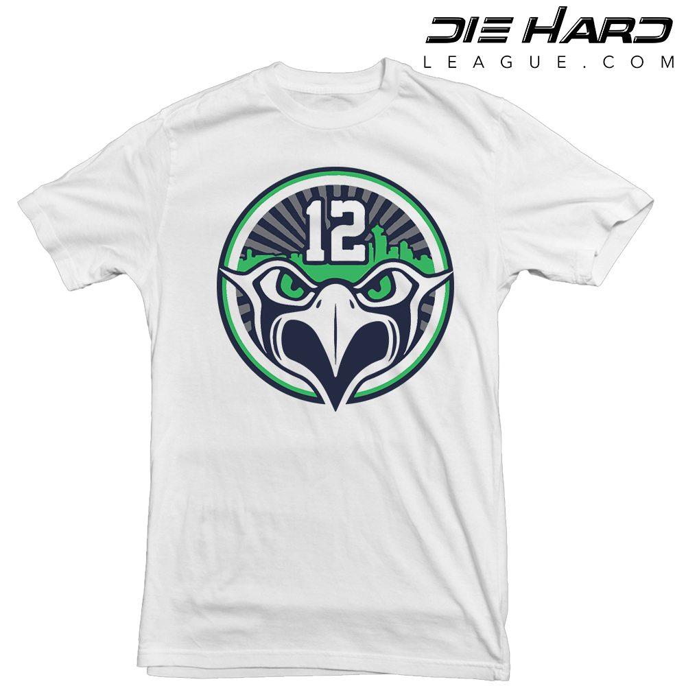 8ee49f7dd35 12 Seahawks - Seattle Seahawks 12s White Tee   Best Price