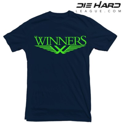 Seahawks Tee Shirts - Winners Navy Tee