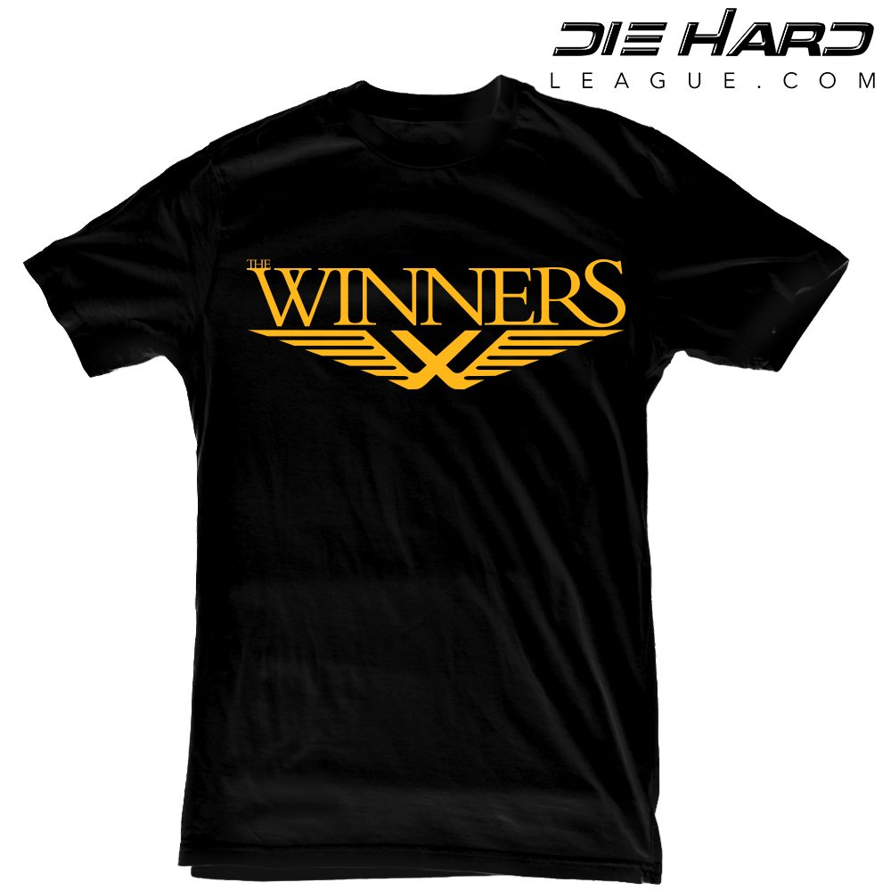 Pittsburgh Steelers Apparel Winners Black Tee