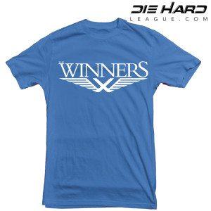 Detroit Lions T Shirt Winners Blue Tee