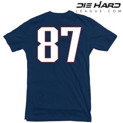 Gronkowski shirt NFL shirt Patriots shirt