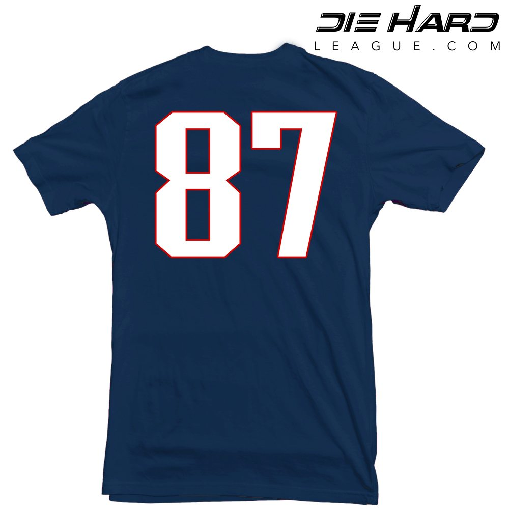 New england patriots t shirt gronk navy tee New england patriots shirts