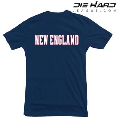 Tom Brady News - New England Patriots Tom Brady GOAT Navy Tee