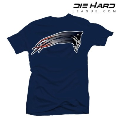 Patriots T Shirt - New England Patriots Dark Patriot Navy Tee