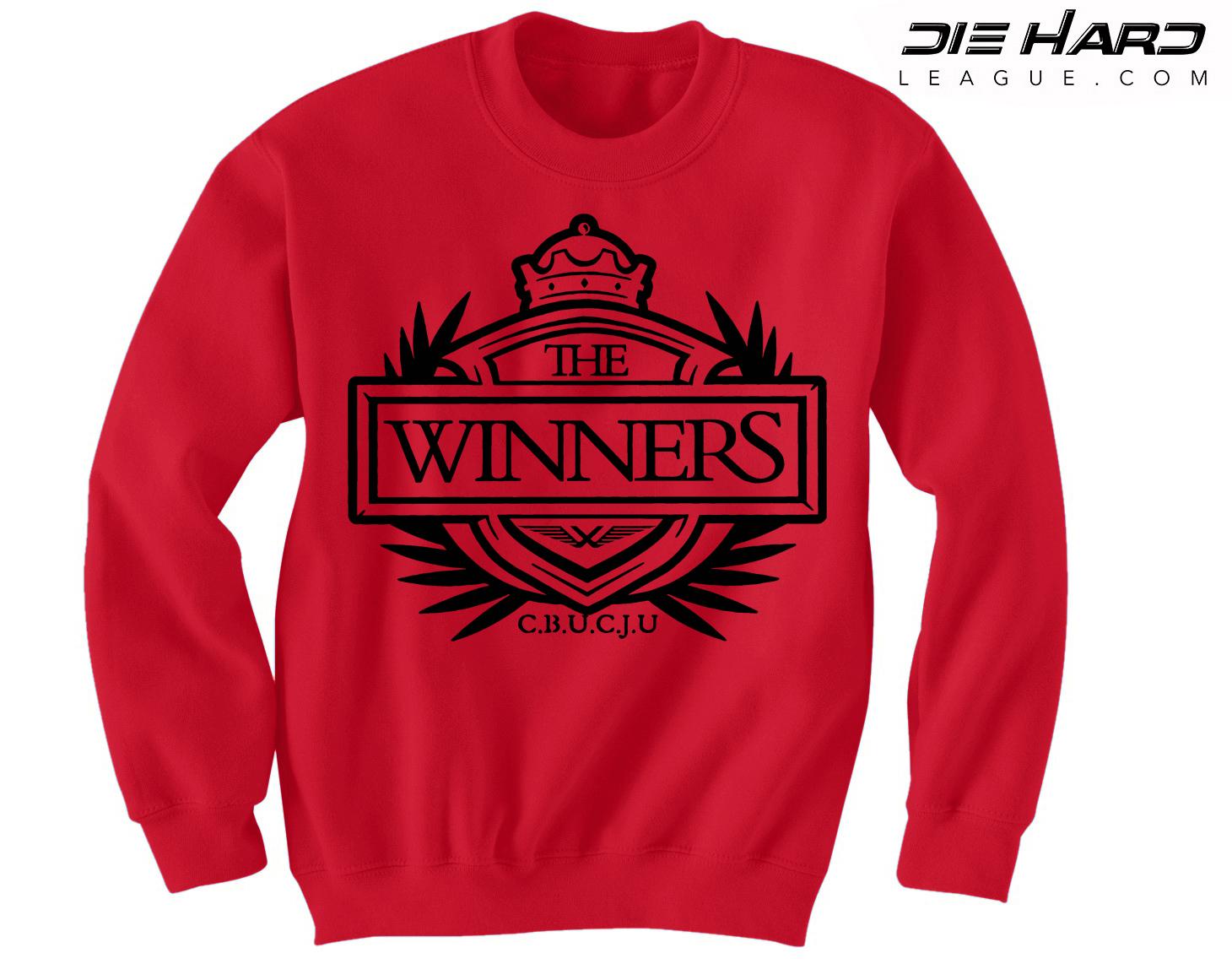 on sale e397a c35fc Atlanta Falcons Sweatshirt - Winners Crest Red Crewneck