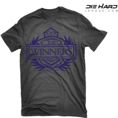 Baltimore Ravens T Shirts - Winners Crest Black Tee