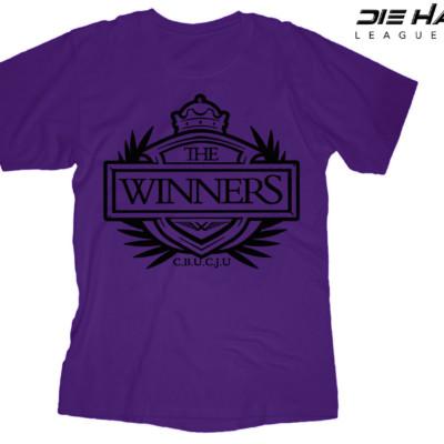 Raven Shirt Baltimore - Winners Crest Purple Tee