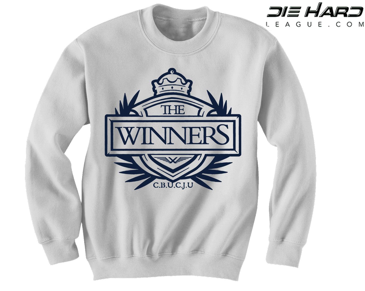 100% authentic 1cd56 ea57f Dallas Cowboys Crewneck Sweatshirt - Winners Crest White Crewneck