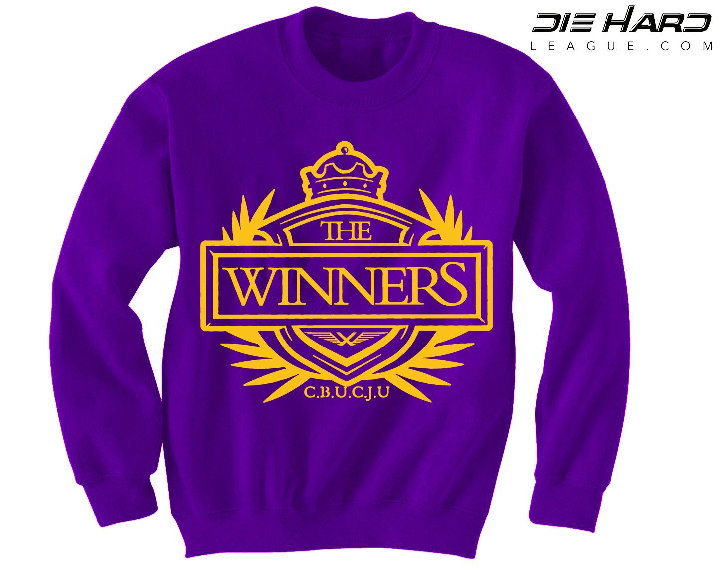 ... Sweatshirt Minnesota Vikings Sweater Winners Crest Purple Crewneck. BACK  ... b6e288e6b