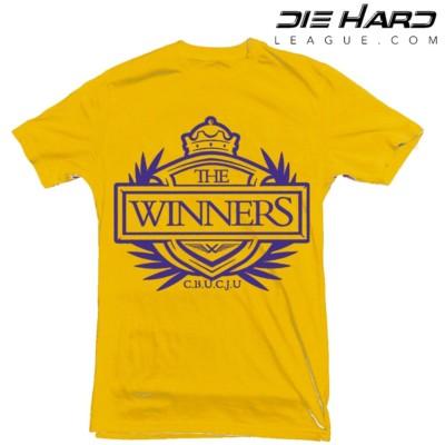T Shirt Viking -Minnesota Vikings T Shirt Winners Crest Yellow Tee