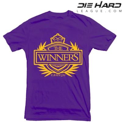 Viking Shirts - Minnesota Vikings Winners Crest Purple Tee