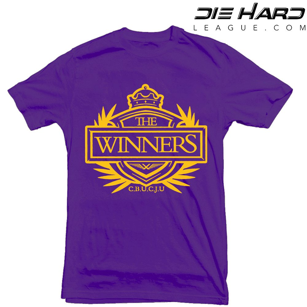 best service 74303 39aa0 Viking Shirts - Minnesota Vikings Winners Crest Purple Tee