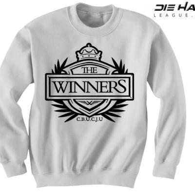 Raider Sweatshirt - Winners Crest White Sweater