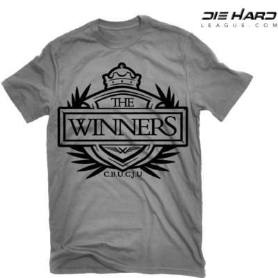 Oakland Raiders t shirt Winners Crest Gray NFL Tee