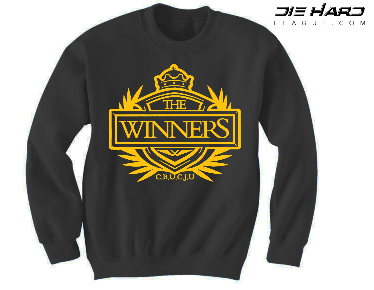 newest 39828 0decc Pittsburgh Steelers Hoodie - Winners Crest Black Crewneck