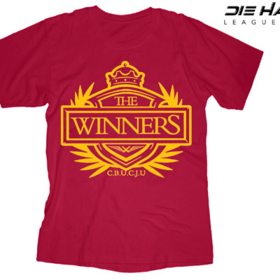 San Francisco 49ers t shirt Winners Crest Red NFL Tee