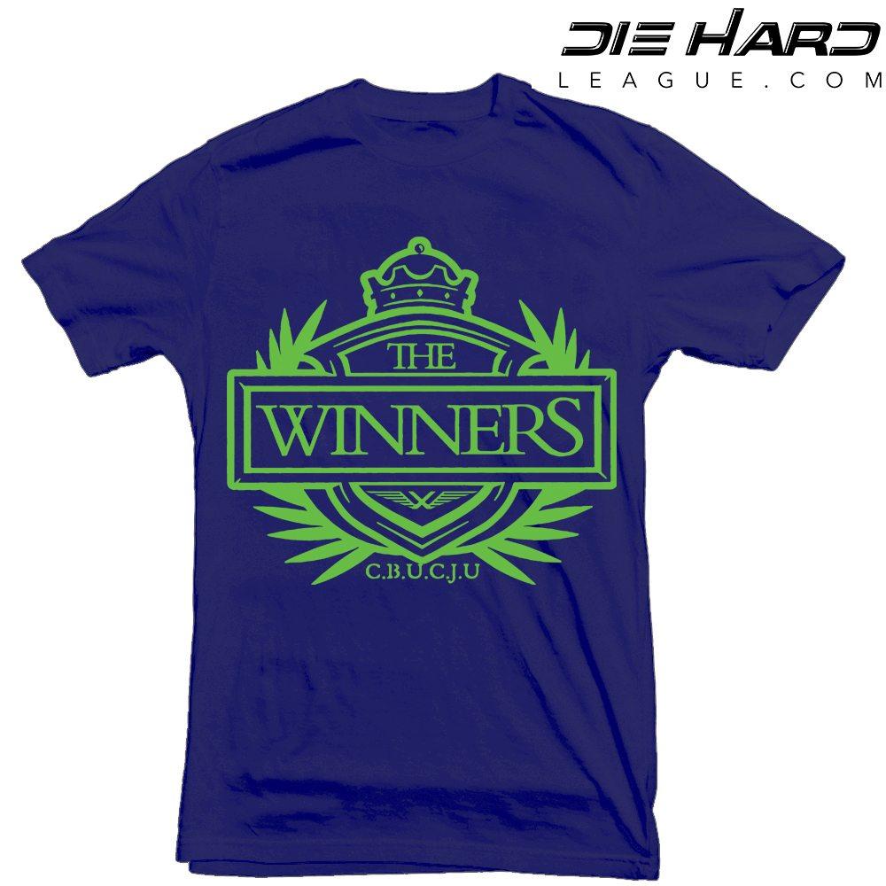 official photos c061f d261f Seahawk Shirts - Winners Crest Navy Tee