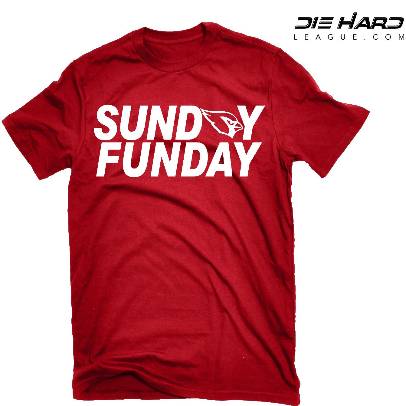 9dfd07c97e36 Arizona Cardinals T Shirt - Sunday Funday Red Tee