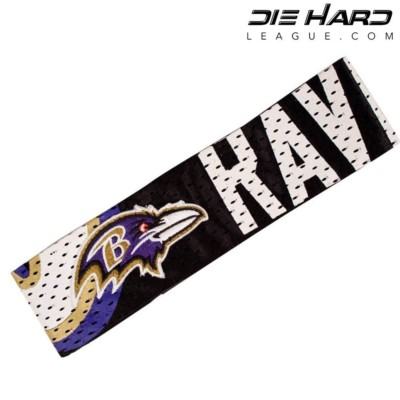 Baltimore Ravens Fan Band AFC North Headband