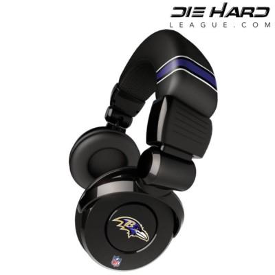 Baltimore Ravens AFC North Pro DJ Headphones