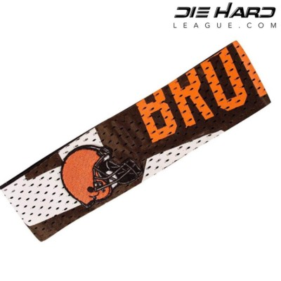 Cleveland Browns Fan Band AFC North Headband