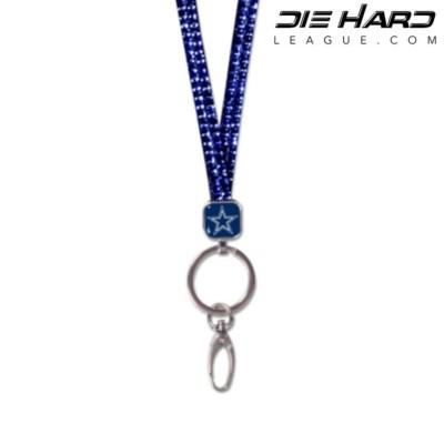 Dallas Cowboys Bling Blue NFC East Lanyard
