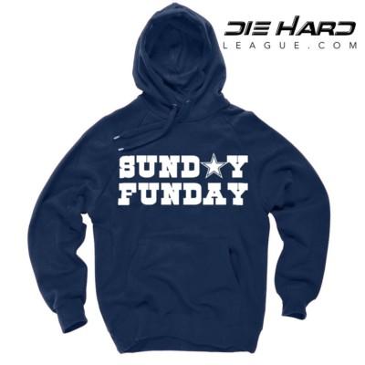 Dallas Cowboy Hoodie - Dallas Cowboys Sunday Funday Navy Hoodie