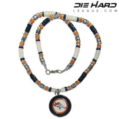 Denver Broncos AFC West Puka Shell Necklace