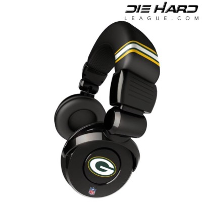 Green Bay Packers NFL Pro DJ Headphones
