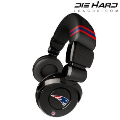 New England Patriots Pro DJ Headphones