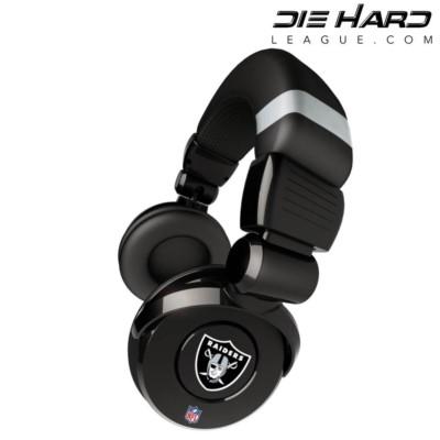 Oakland Raiders NFL Pro DJ Headphones