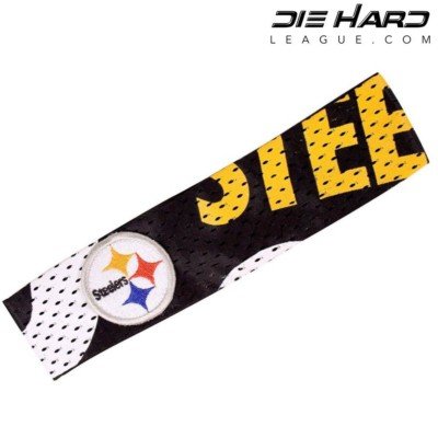 Pittsburgh Steelers Fan Band Headband