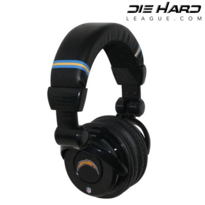 San Diego Chargers Pro DJ Headphones Gear