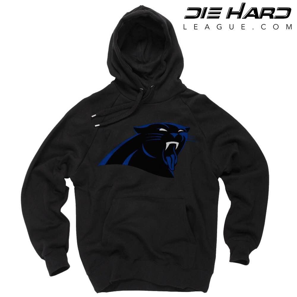 947647d4 Carolina Panthers Hoodies - Jordan Tongue Black Hoodie