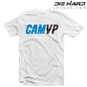 Carolina Panthers Cam Newton MVP White Shirt